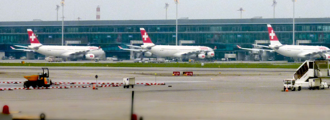 foto Swiss Air planes