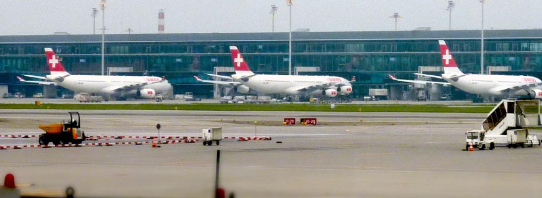 foto Swiss Air planes